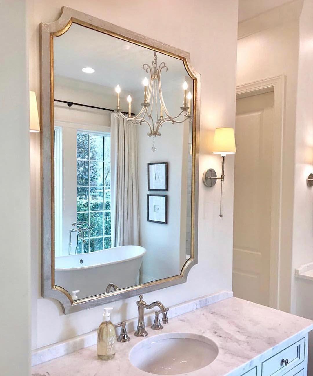 l d linens decor on instagram custom order this mirror on custom bathroom vanity mirrors id=16125