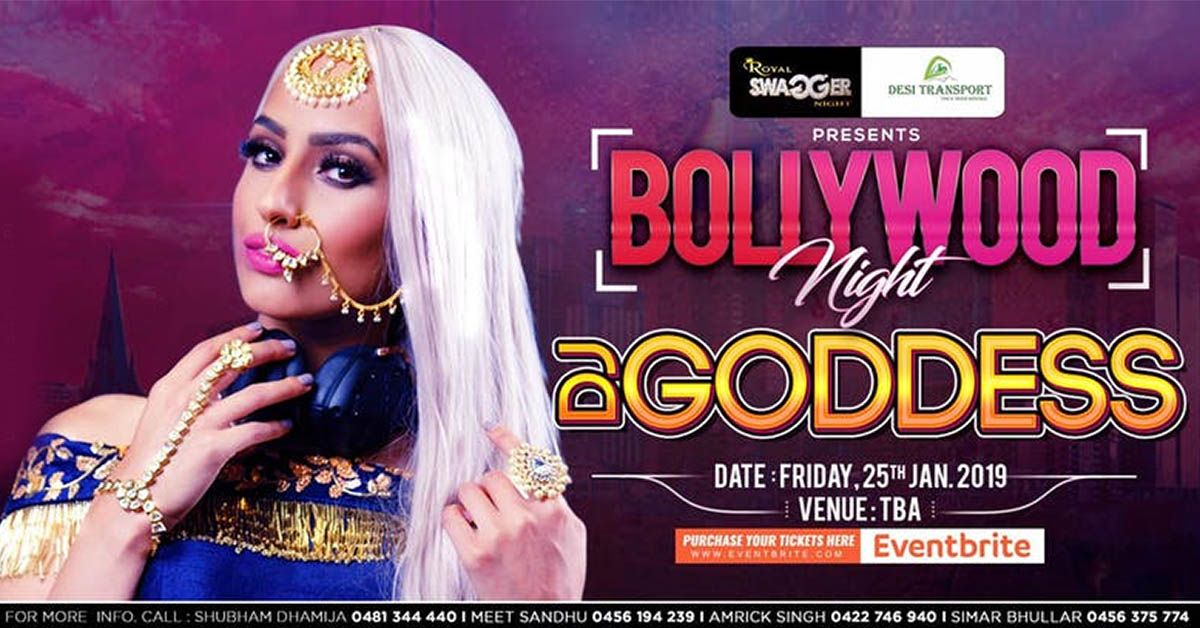 BOLLYWOOD NIGHT WITH DJ GODDESS🎧 🎼After touring and being