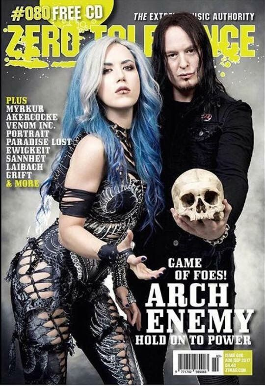 Pin By Sam Hill On Alissa White Gluz With Images Arch Enemy