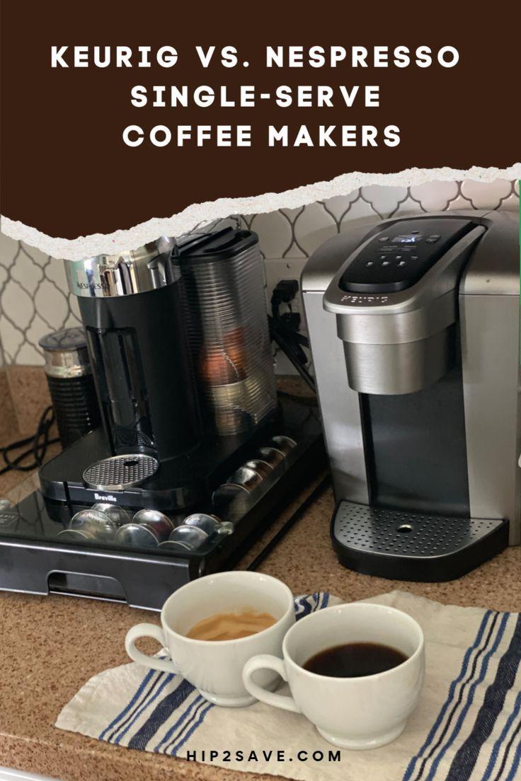 Nespresso vs Keurig Which SingleServe Machine is Best