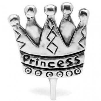 Metal Morphosis Birthday Candle Holder Princess
