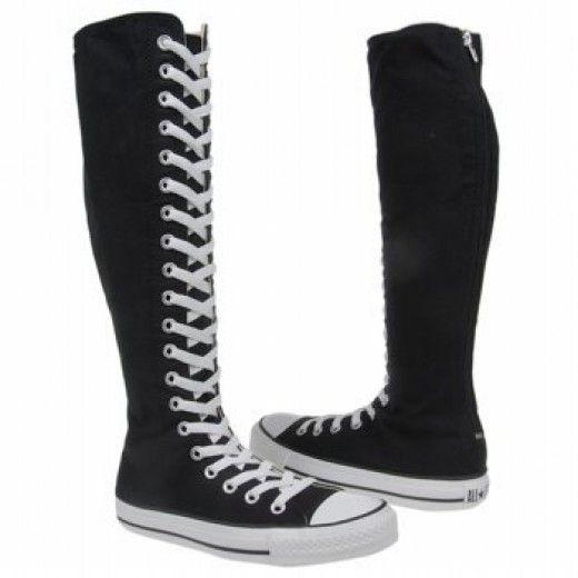 converse boots girls