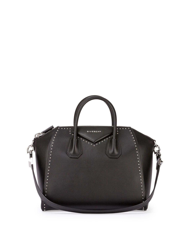 Antigona Medium Studded Satchel Bag 979fba7253a59