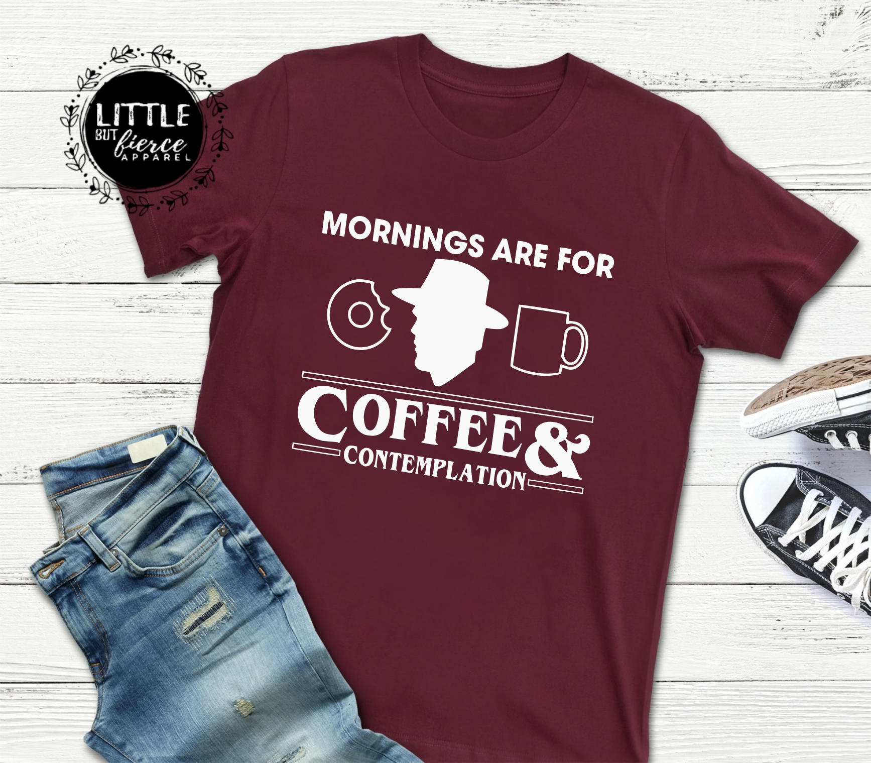 Stranger Things Shirt Hopper Shirt Coffee