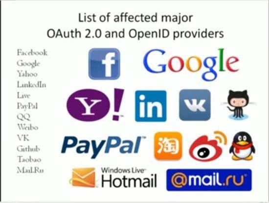 Un estudiante de doctorado ha puesto de manifiesto la vulnerabilidad Covert Redirect afectando OAuth y OpenID.