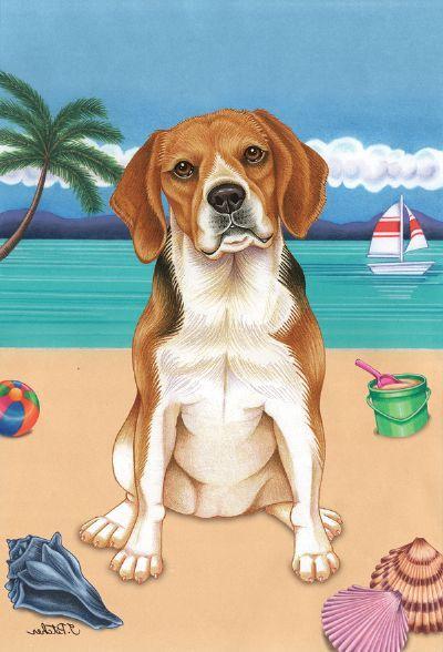 Dog Lovers Gifts Artist Tomoyo Pitcher Beagle Art Beagle
