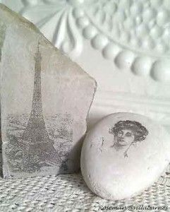2595dace How To Transfer An Image To A Rock | crafts | Rock crafts, Diy art ...