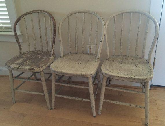 Primitive Antique Spindle Back Chair, Kitchen Chairs, Bentwood Chair, Grange - Primitive Antique Spindle Back Chair, Kitchen Chairs, Bentwood