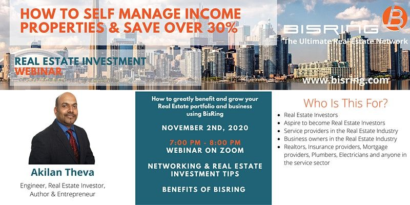 Real Estate Investment Webinar Income Property Real Estate Investing Webinar