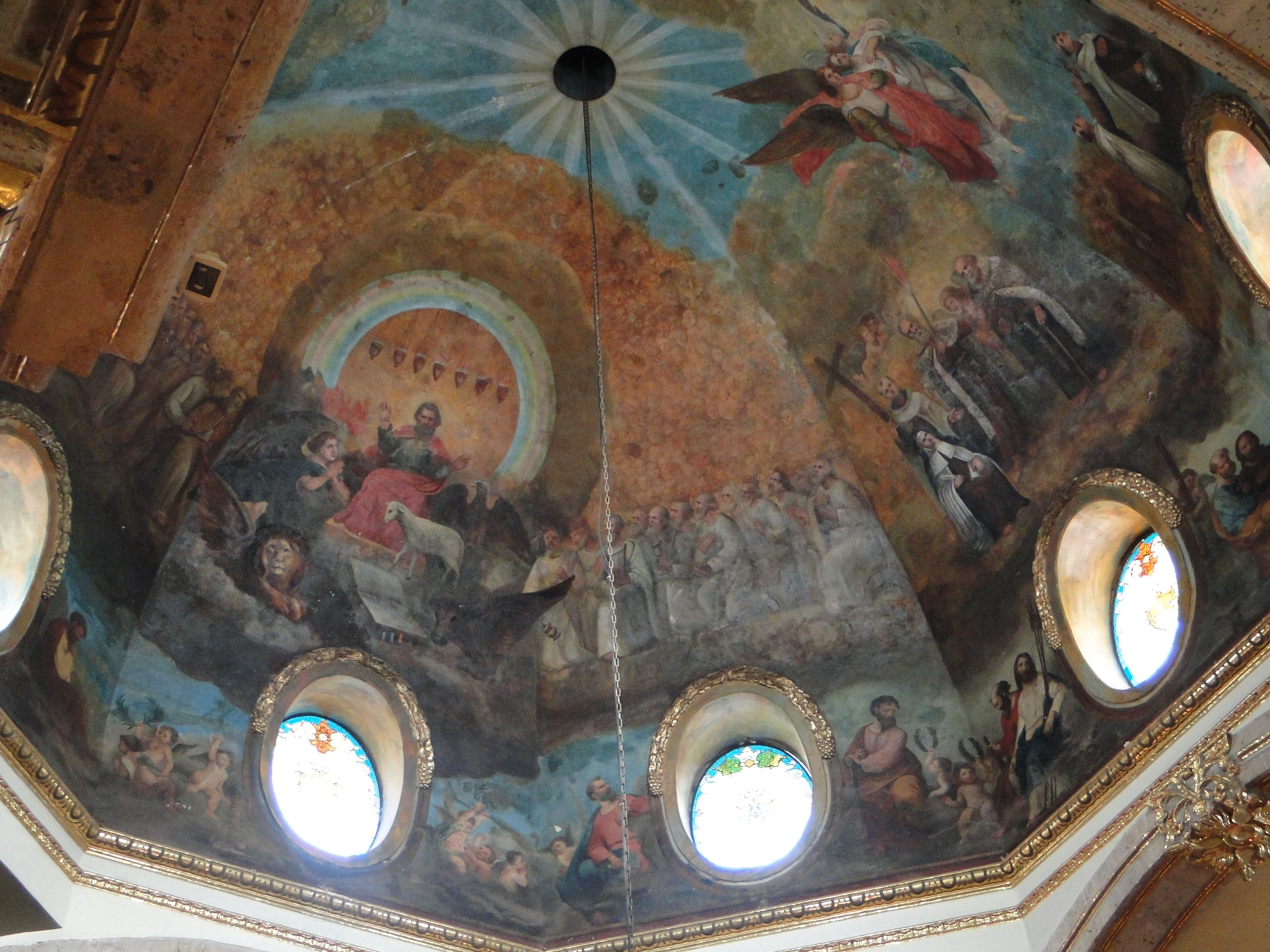 interior del Ex Convento del Carmen