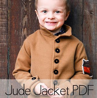 I don't know that I'd ever have the time or energy to actually make this coat for the boys...but it's super cute.