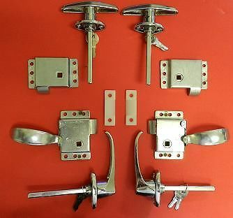 Teardrop Rv Trailer Double T Slams Interior Locking Door Latches Hardware Pinterest Rv