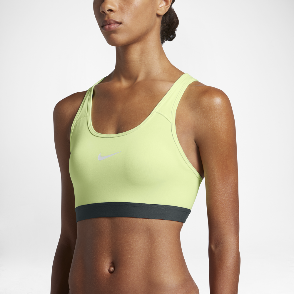 62f7949a5e Nike Pro Classic Padded Women s Medium Support Sports Bra Size Small  (Green) - Clearance