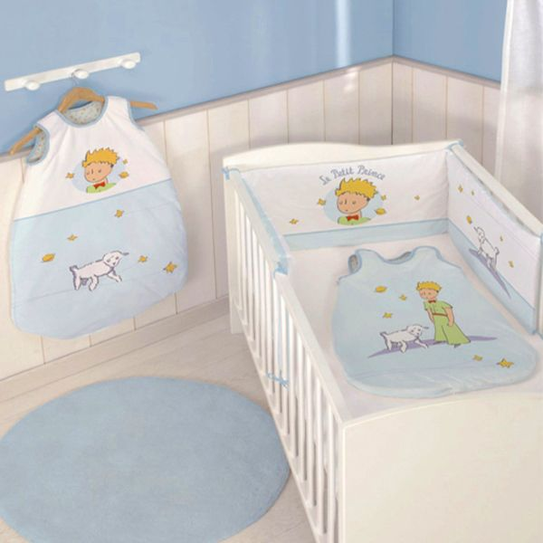 Collection le petit prince pour une chambre b b th me for Collection chambre bebe
