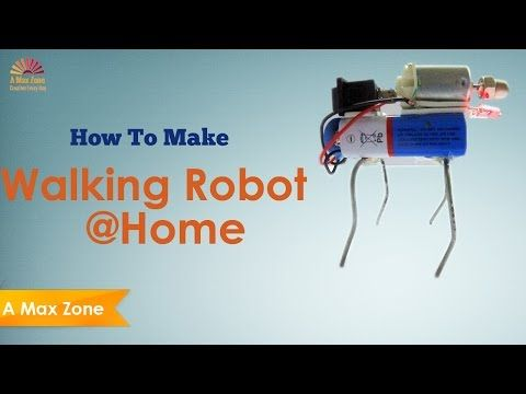 Robot at home how to make a walking robot at home easy a max robot at home how to make a walking robot at home easy a max zone diy robotrobot kitseasy solutioingenieria Gallery