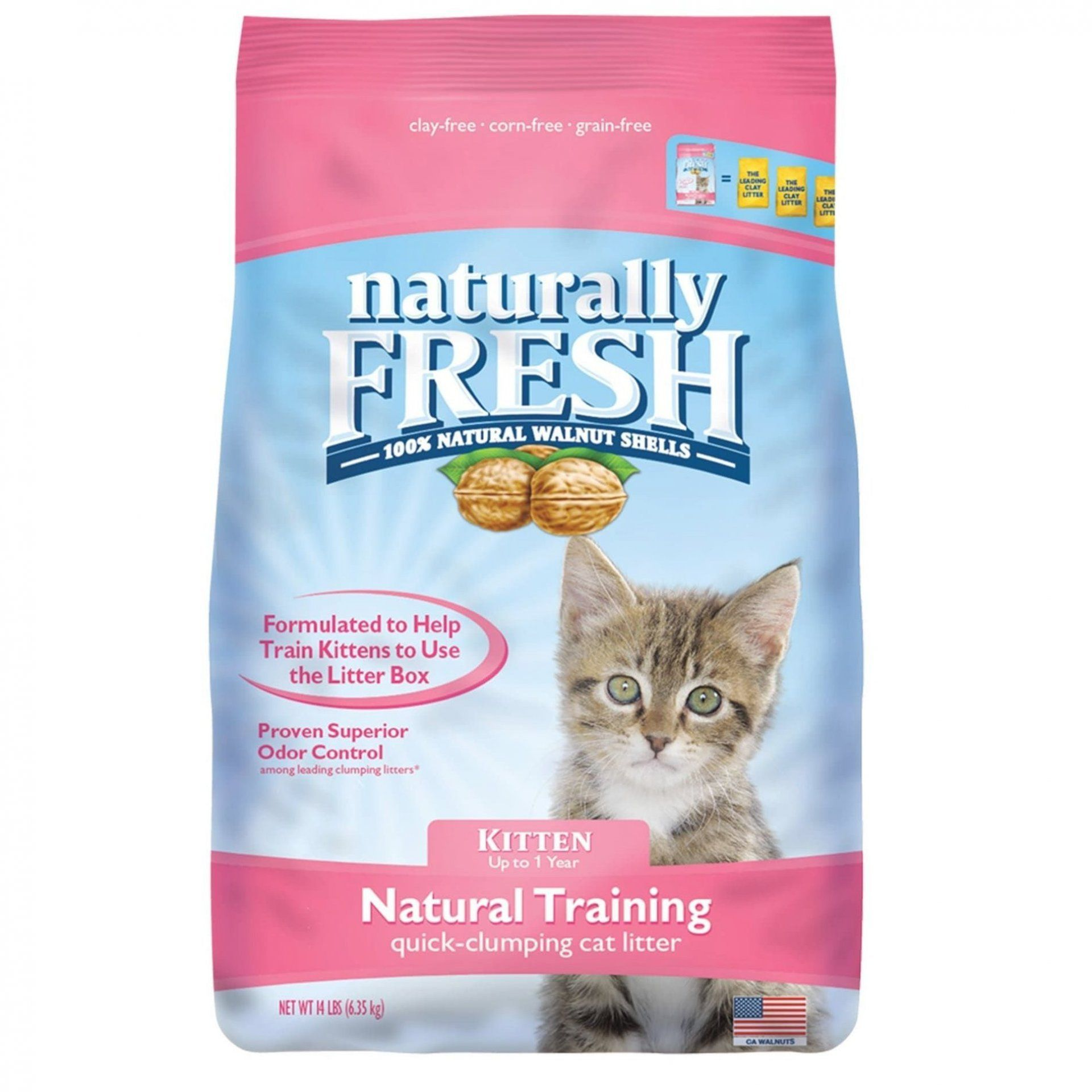Sometimes Training Our Kittens To Use The Litter Box Can Be A Challenge But With The Powerful Blend Of Natural Herbs Fou In 2020 Clumping Cat Litter Cat Litter Litter
