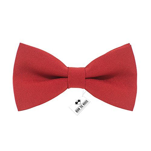 Men's pre-tied red solid color bow tie gabardine material... https://www.amazon.com/dp/B01NAAW1F3/ref=cm_sw_r_pi_dp_x_uoCKybVBDH8JF