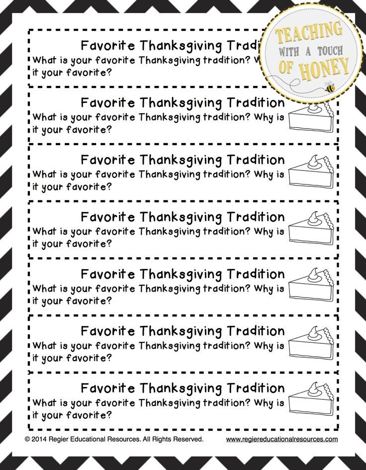 20 Thanksgiving Writing Prompts - Minds in Bloom