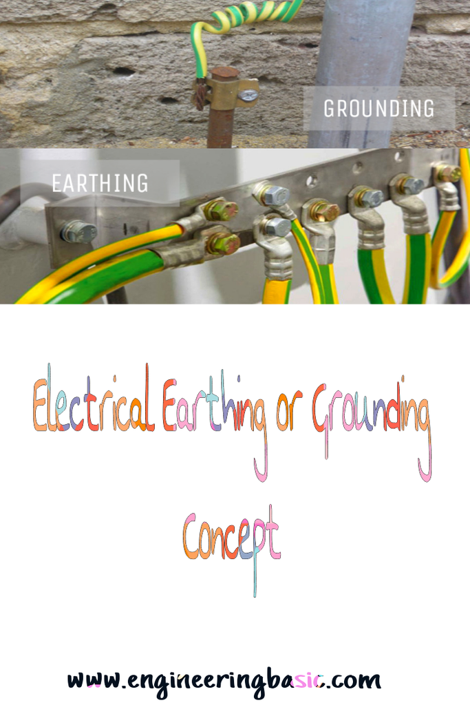 Electrical Earthing Or Grounding Concept