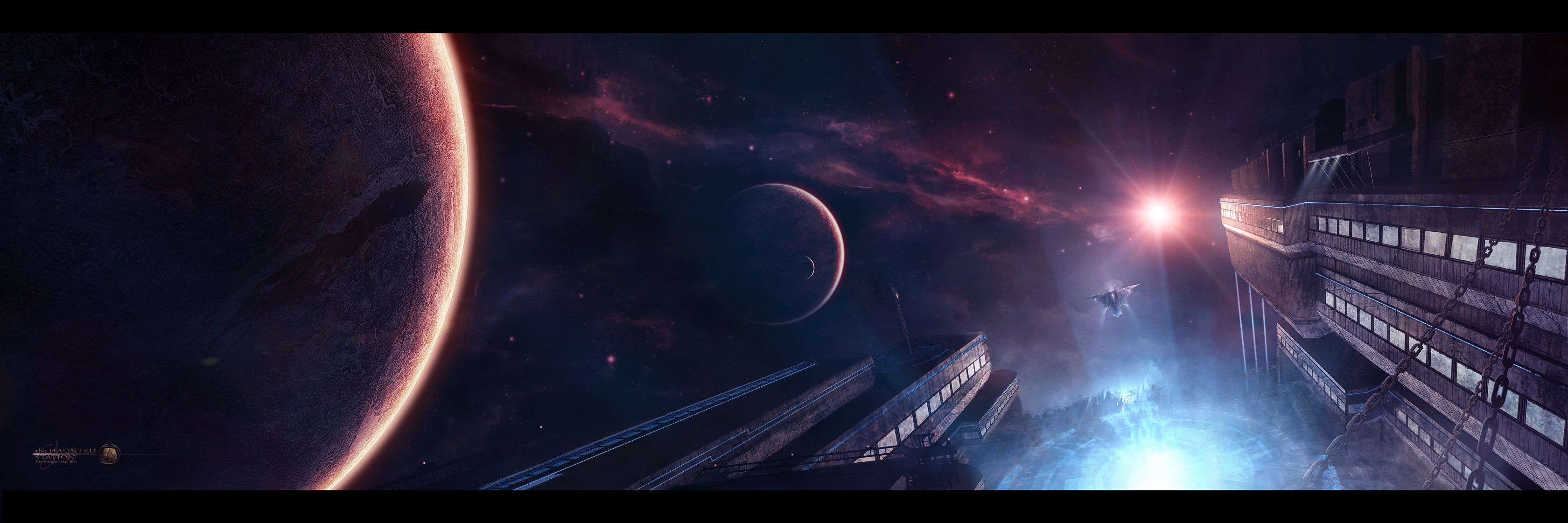 The Haunted Station /by Shue13 #deviantart #SciFi   Sci fi ...
