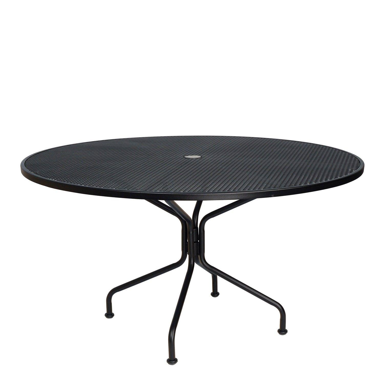 Premium Mesh Rta 54 Round Umbrella Table Table Glass Top