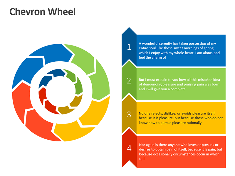 Editable powerpoint template chevron wheel business concepts editable powerpoint template chevron wheel toneelgroepblik Gallery