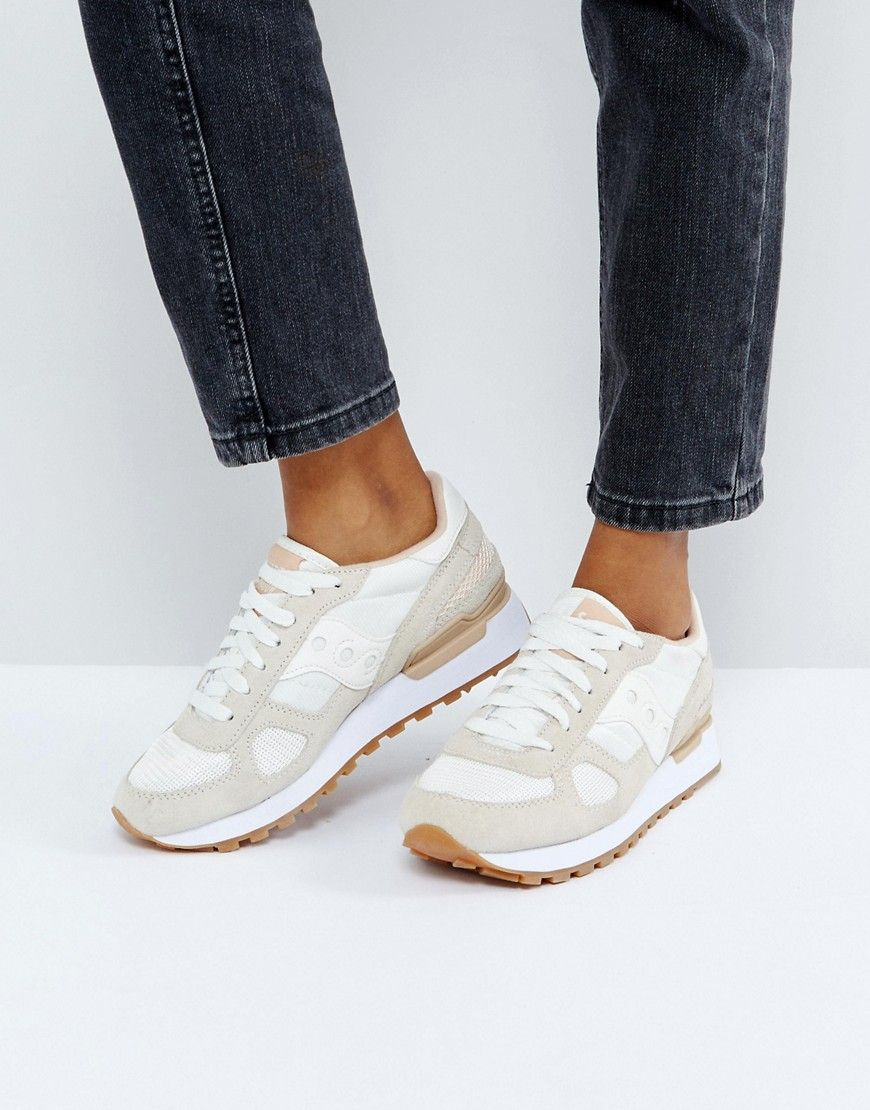 quality design b3903 73307 SAUCONY SHADOW ORIGINAL IN CREAM - CREAM. saucony shoes