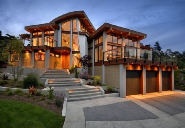 Modern Country Homes Three Very Modern Homes Modern Room Blog Architecture House Modern House Design Country House Interior