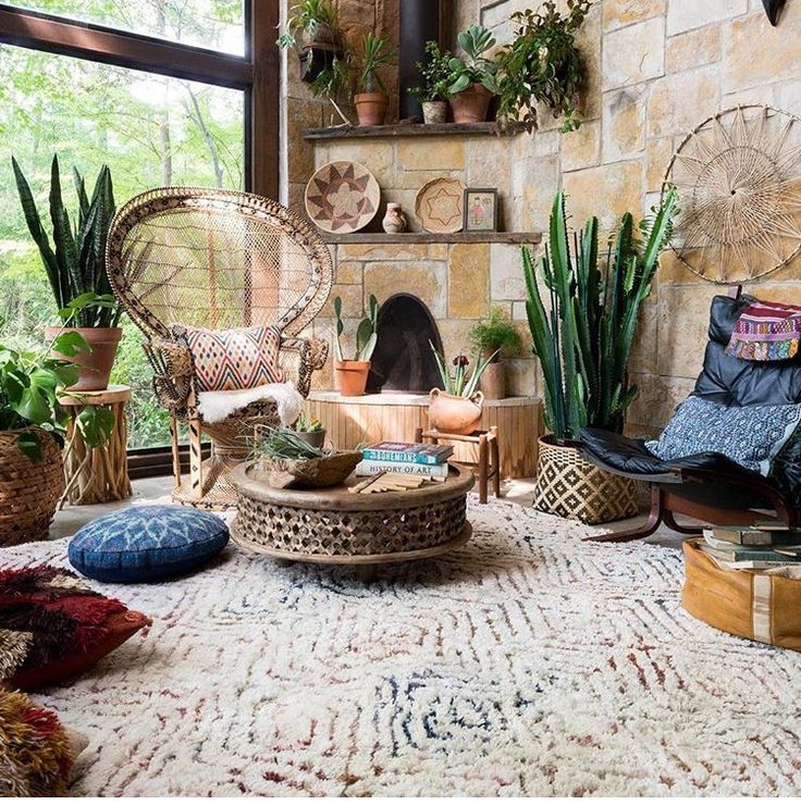 The Most Boho Livingroom