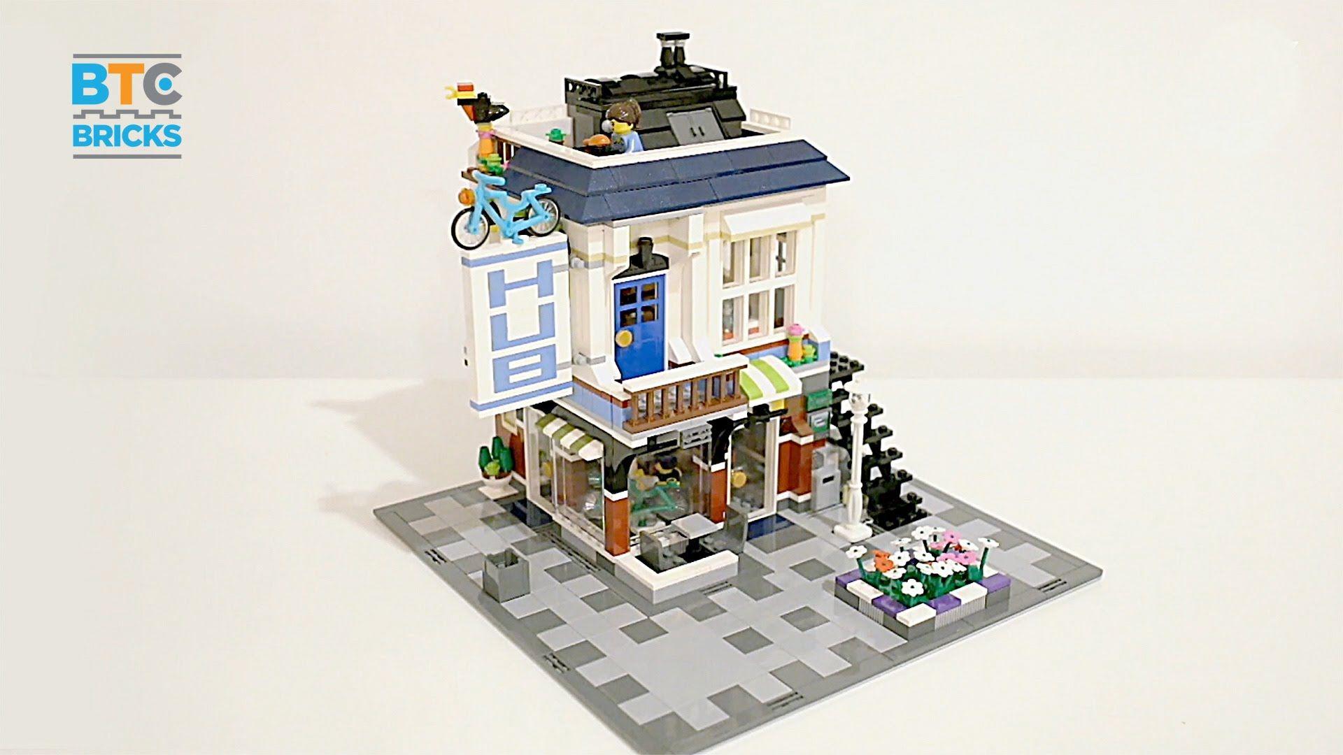 lego corner deli instructions