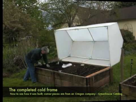 Building the Cold Frame