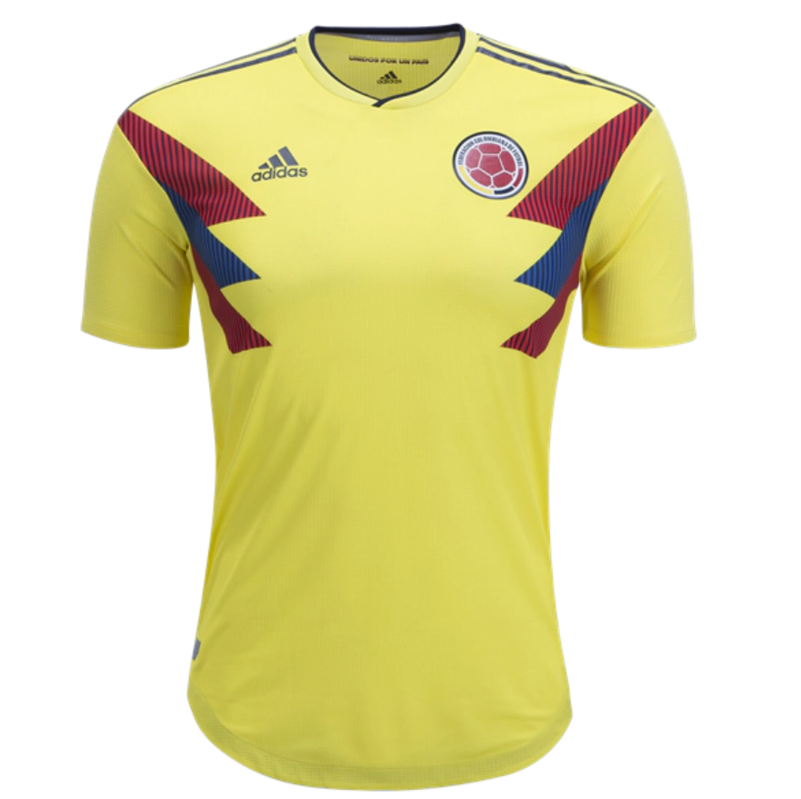 f7e352e42 Colombia 2018 World Cup Home Match Men Soccer Jersey Personalized Name and  Number
