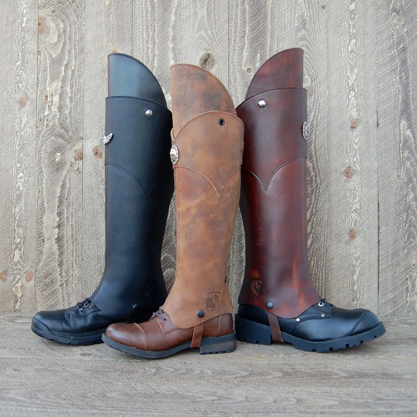 Accessories Boots Armor Boots Horse Riding Boots