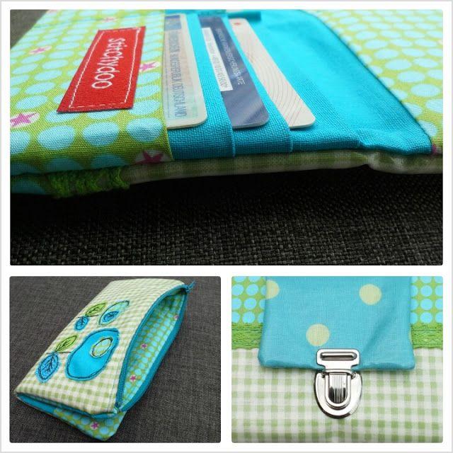 Eine neue Geldbörse {RUMS #15} | nähen | sewing | Pinterest | Nähen