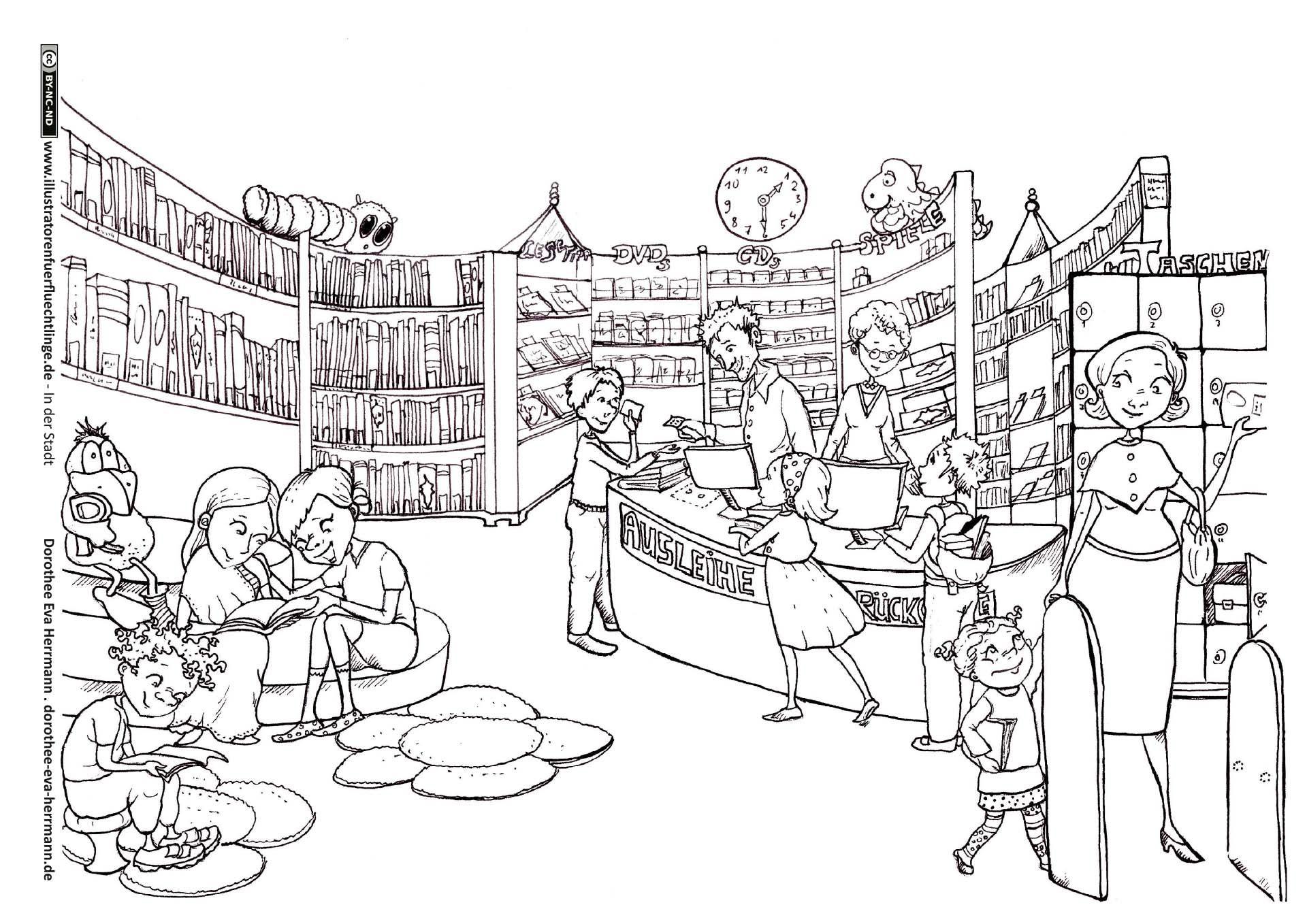 download als pdf in der stadt  bibliothek bücherei