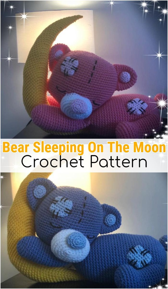 Free Crochet Bear Patterns – Amigurumi Patterns #crochetbearpatterns