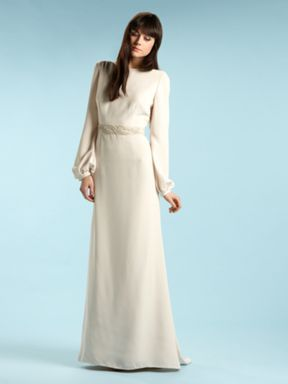 Biba Style Wedding Dress In House Of Fraser Of All Places Bridal Gowns Vintage Gorgeous Dresses Bridal Gowns