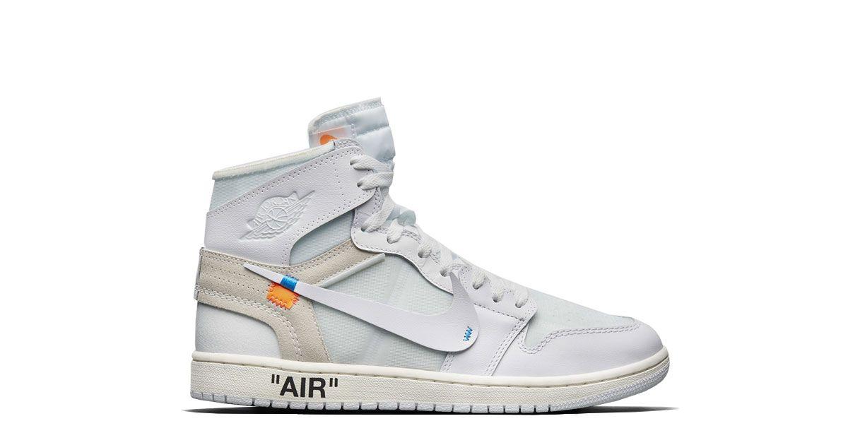best sneakers 9dff7 a0921 Off White x Nike Air Jordan 1 High