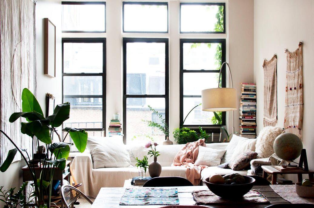petit-appartement-NYC-déco-bohème-et-cosy | Idées pour la maison ...