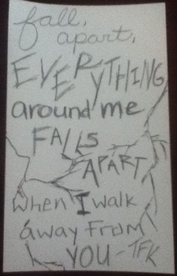 Lyric look up song by lyrics : thousand foot krutch - falls apart | Song Lyrics | Pinterest ...