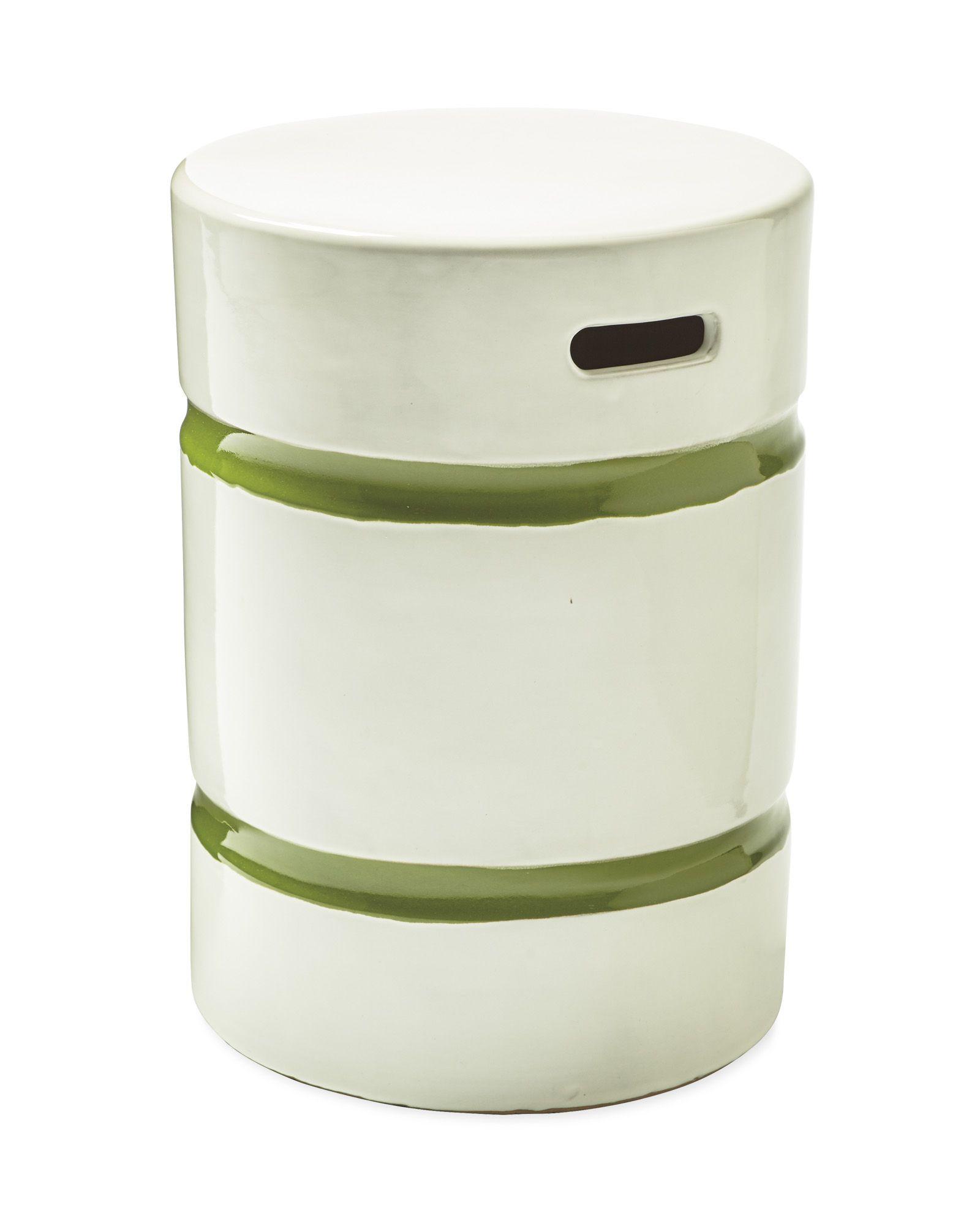 Super Round Sebastopol Stool Bone Green Serena Lily Squirreltailoven Fun Painted Chair Ideas Images Squirreltailovenorg