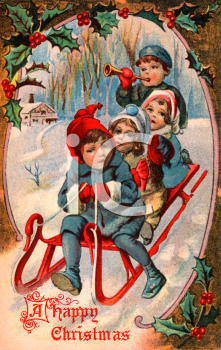 17 Best images about VIntage Cards/Motifs - Christmas on Pinterest ...