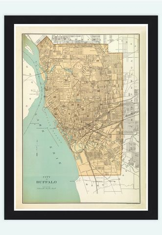 Old map of Saint Louis City St Louis 1904 Vintage Map
