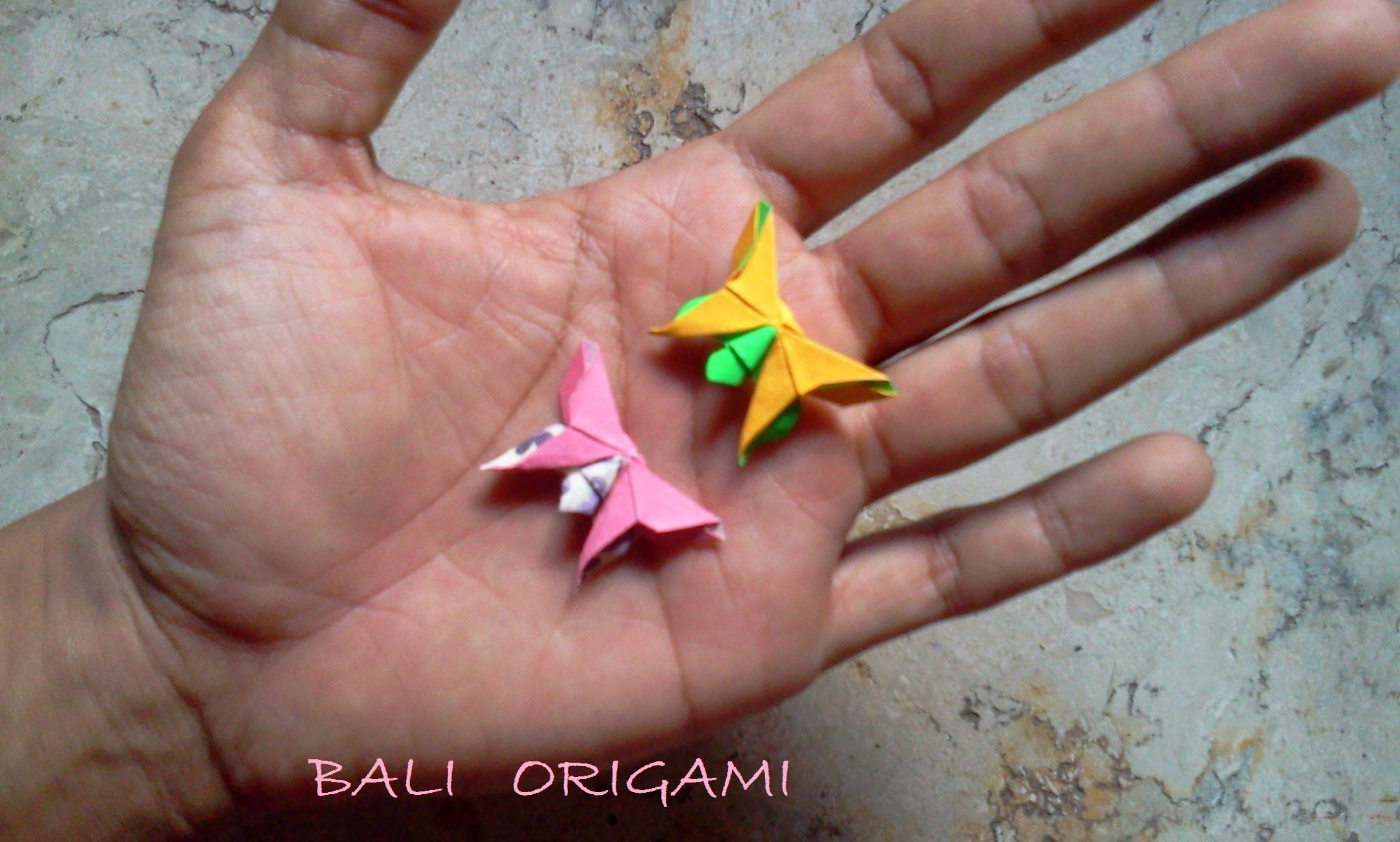 Photo of How to make Origami Butterfly ( Michael G Lafosse )