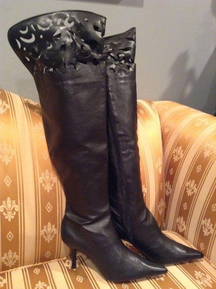 1980s Boots Women