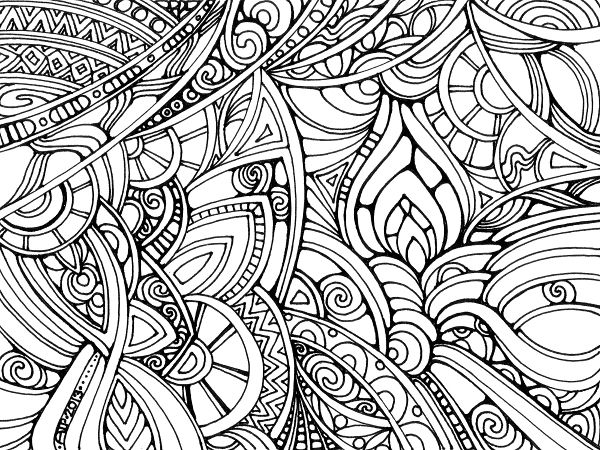 Coloring Pages To Color With Sharpies. mandala colored with ultra ...