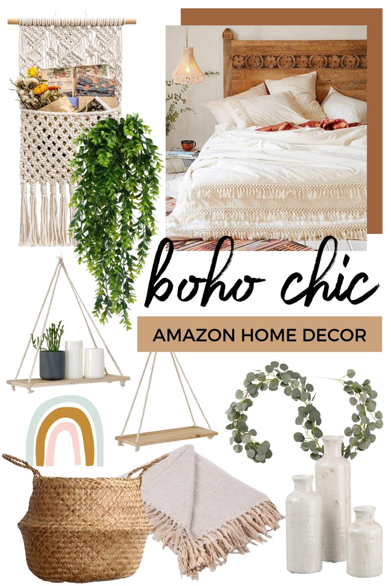 Boho Chic Home Decor from Amazon