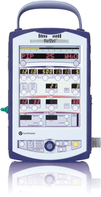 Carefusion ReVel | ventilator | Medical design, Vital signs
