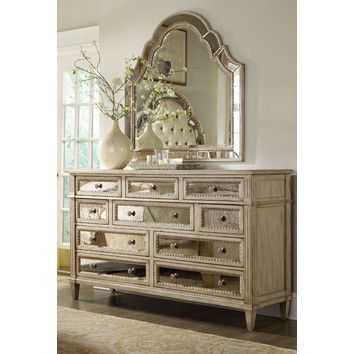 hooker furniture sanctuary 10 drawer dresser the mirrors would