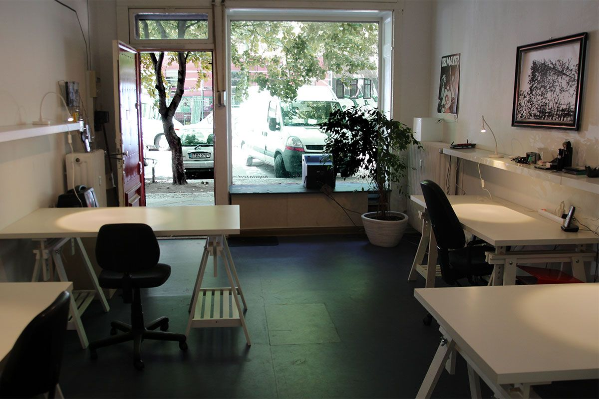small coworking space